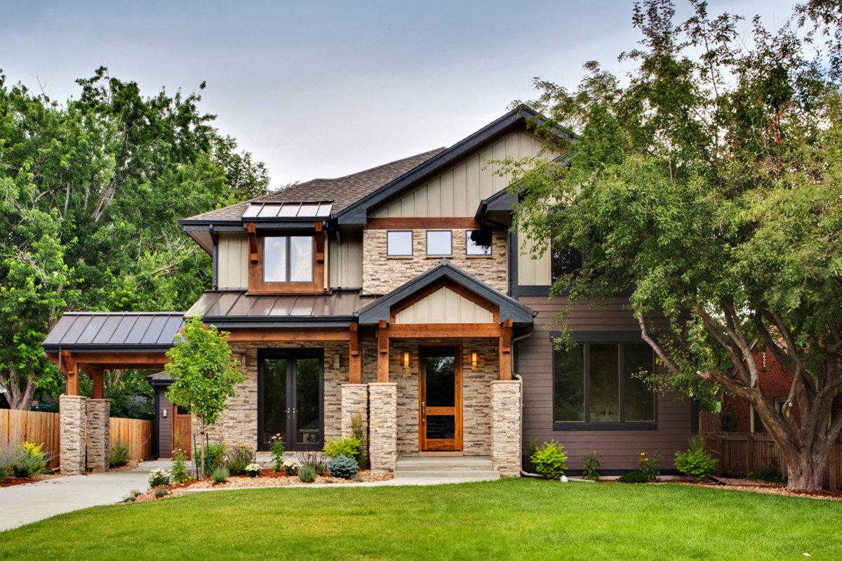 Transitional architecture home design studio gunn denver - Easy transitional home design ...