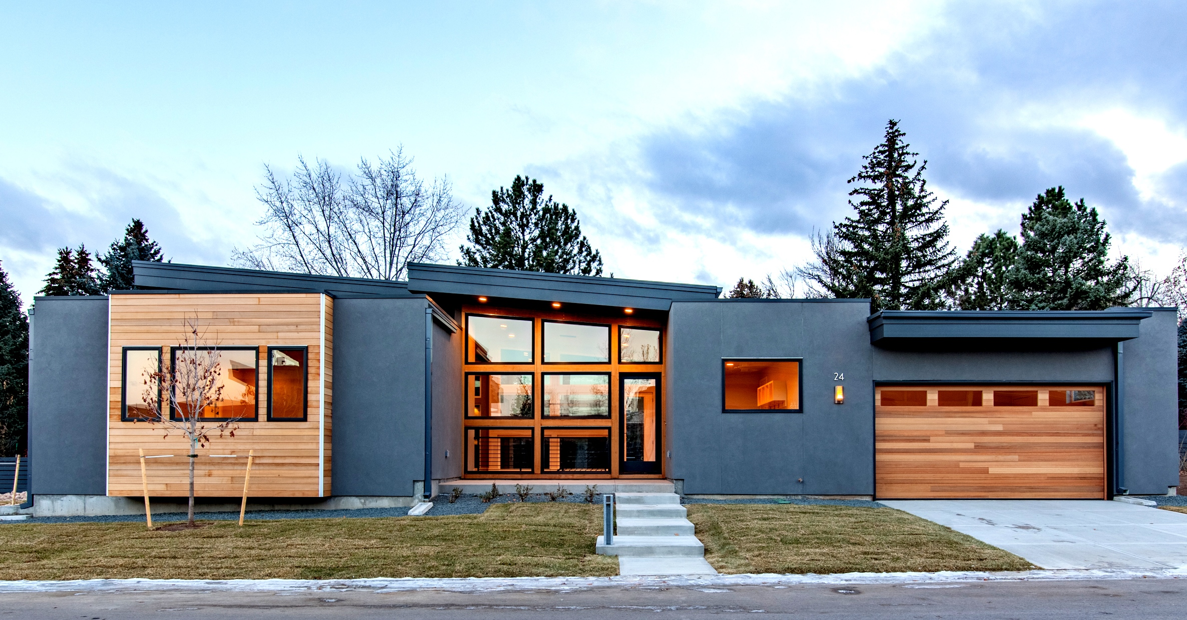Modern architecture home design studio gunn denver for Architecture moderne