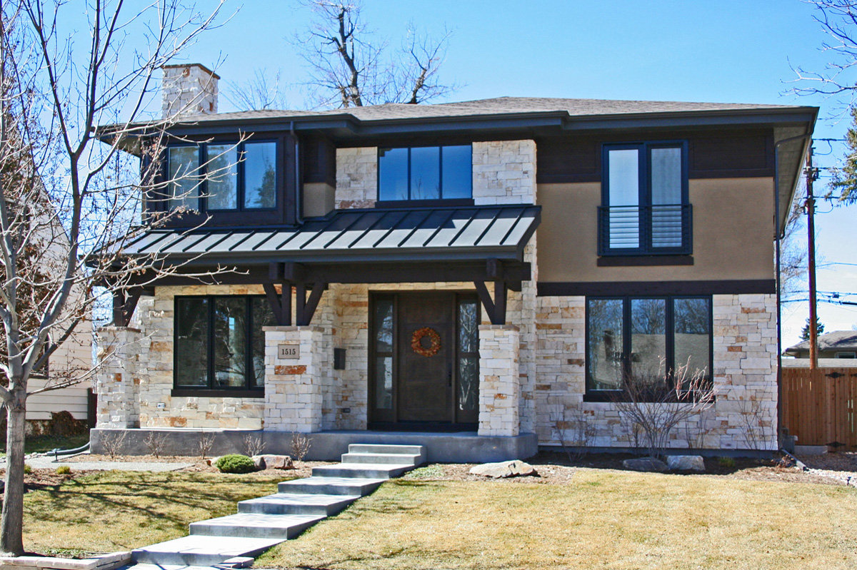 transitional architecture home design